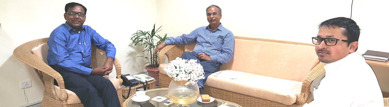 Visit of Dr. Dinesh Kumar Tyagi, CEO, CSC E-Gov Services India Limited.