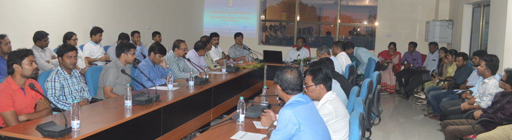 Inauguration of e-Office Software for Directorate of Information Technology, Govt. of Tripura.